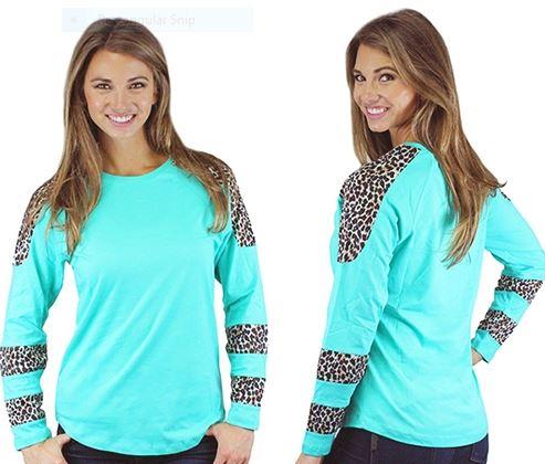 Cheetah DC - Turquoise