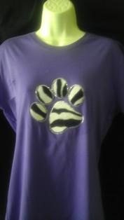 Zebra Paw
